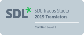 SDL Trados 2019 Certification